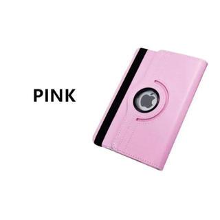【ピンク】 iPad5 iPad6 360度回転 iPad ケース カバー