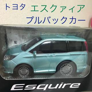 【新品★未開封】トヨタ プルバックミニカー エスクァイア