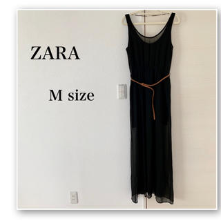 ZARA♡マキシワンピ♡黒♡ドレス♡外国♡リゾート♡海外♡セクシー♡シースルー