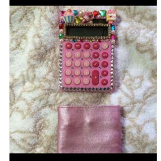 かわいい デコ 電卓 コンパクト