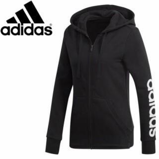adidas - 新品! アディダス レディース フルジップフーディ ブラック XLサイズ