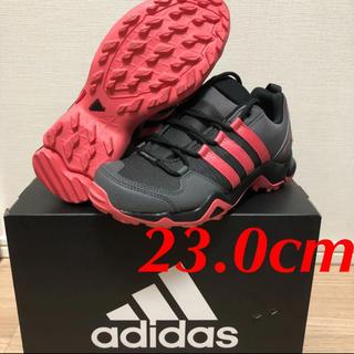 アディダス(adidas)の新品! アディダス トレッキングシューズ グレー ピンク 23.0cm(スニーカー)