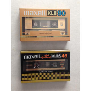 マクセル(maxell)のハイポジション TYPE II カセットテープ 未使用品(その他)