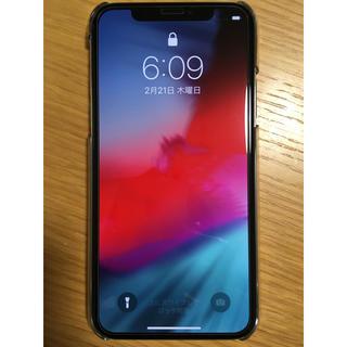 アイフォーン(iPhone)のiphone x 64GB  au(スマートフォン本体)
