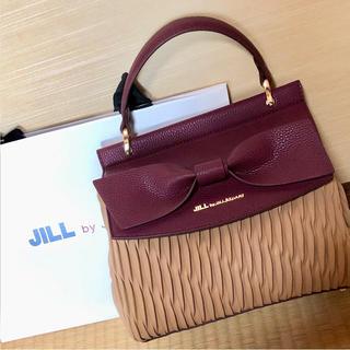 ジルバイジルスチュアート(JILL by JILLSTUART)の未使用 ジルバイ リボン エンボスリボンバッグ ショルダーバック ハンドバック(ハンドバッグ)