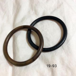 ロンハーマン(Ron Herman)の19-93 brown wood bangle(ブレスレット/バングル)