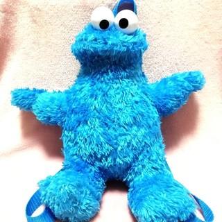 セサミストリート(SESAME STREET)のクッキーモンスター リュック キッズ 子供 ぬいぐるみ セサミストリート エルモ(キャラクターグッズ)