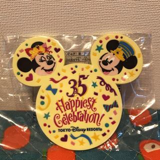 Disney - ディズニー35周年 スーベニア コースター