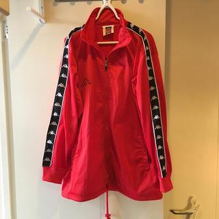 カッパ(Kappa)の90s kappa ジャージ トラックジャケット 赤 カッパ Mサイズ(ジャージ)