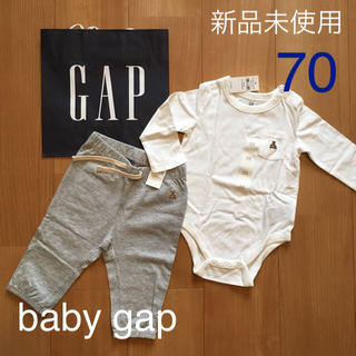 babyGAP - 今期新品★完売品baby gapロンパース &パンツ70