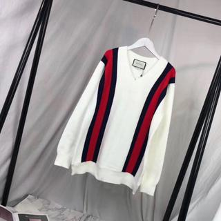 Gucci - GUCCI グッチ スウェット ウール ニット セーター