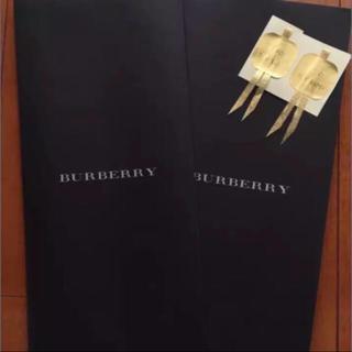 バーバリー(BURBERRY)の新品未使用品 バーバリーラッピング紙袋二枚(ラッピング/包装)
