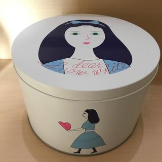 オードリー 空き缶 バレンタイン 大(小物入れ)