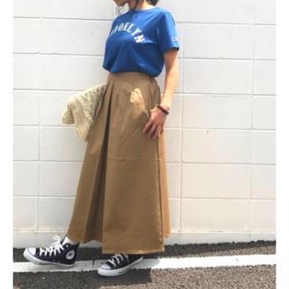 GU - ジーユー チノマキシスカート チノ マキシスカート スカート マキシ gu GU