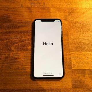 アップル(Apple)のiPhone X 本体 背面割れ ジャンク 256GB Apple(スマートフォン本体)