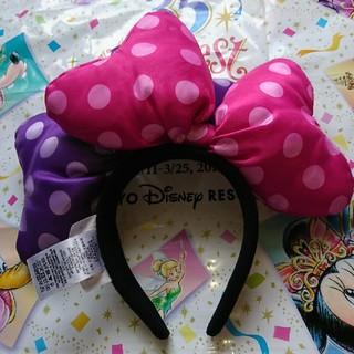 Disney - 香港ディズニーランド ミニーカチューシャ