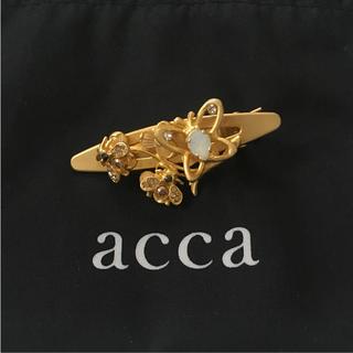 アッカ(acca)のacca クリップ ヘアピン マットゴールド   (ヘアピン)