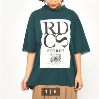 ロデオクラウンズ(RODEO CROWNS)のロデオ ポイントレース Tシャツ(Tシャツ(半袖/袖なし))