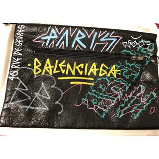 バレンシアガ(Balenciaga)の18fw バレンシアガ グラピティ クラッチバッグ(セカンドバッグ/クラッチバッグ)