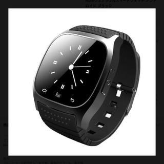 M26ウェアラブルスマートウォッチ新品ブラック(腕時計(デジタル))