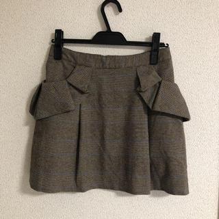 トゥーパーセントトウキョウ(2% TOKYO)の2%Tokyo グレンチェック ミニスカート(ミニスカート)