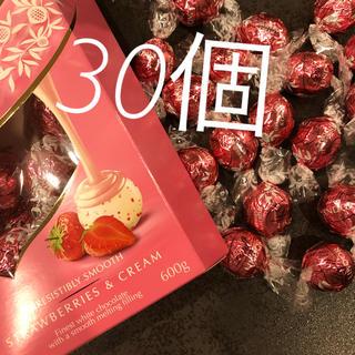 リンツ(Lindt)の30個 リンツ   リンドール   チョコレート コストコ(菓子/デザート)