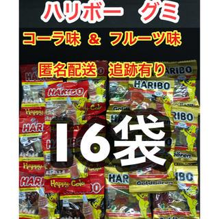 コストコ(コストコ)の16袋 ハリボー グミ  コーラ味 フルーツ味 各8袋 送料込み コストコ(菓子/デザート)