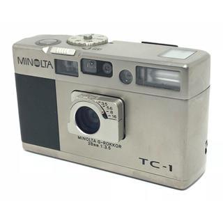 コニカミノルタ(KONICA MINOLTA)の【ジャンク】 MINOLTA ミノルタ TC-1 コンパクトカメラ #9-(フィルムカメラ)