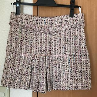 イプダ(epuda)のepuda jeans♡ツイードスカート(ミニスカート)