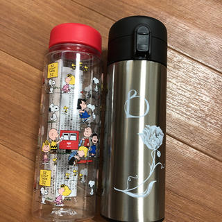 BENEFIQUE - [新品未使用]スヌーピー ベネフィーク 水筒セット