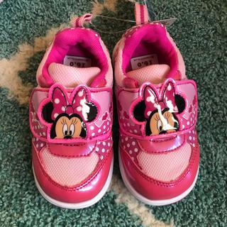 Disney - 新品 ディズニーミニー スニーカー 靴 15㎝