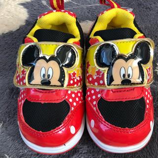 ディズニー(Disney)の新品 ディズニーミッキー  スニーカー 靴 15㎝(スニーカー)