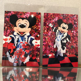 ディズニー(Disney)の新品☆蜷川実花×ディズニー☆ミッキーポストカード☆イマジニングザマジック☆2枚組(写真/ポストカード)