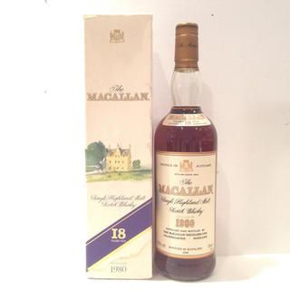 マッカラン 18年 1980-1999 BOX付 サントリー 43% 750ml(ウイスキー)