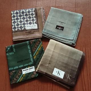 カルバンクライン(Calvin Klein)の新品ハンカチ 色々セット(ハンカチ/ポケットチーフ)