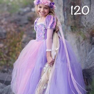 ディズニー(Disney)のラプンツェル ドレス 長袖 プリンセスドレス 120(ドレス/フォーマル)