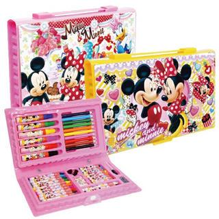 ディズニー(Disney)のディズニー お絵かき ペン 色鉛筆 クレヨン 42P セット(クレヨン/パステル )