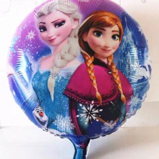 ディズニー(Disney)のアナと雪の女王♡バルーン風船 誕生日 パーティー  アナ雪 ブルー 新品(キャラクターグッズ)