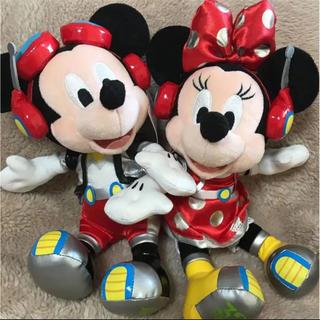 ディズニー(Disney)の『新品』ディズニーランド  ミッキー&ミニー ぬいぐるみセット(キャラクターグッズ)