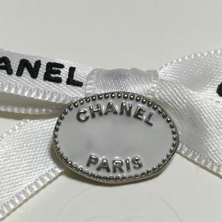 シャネル(CHANEL)のシャネルボタン♡CHANEL ボタン ホワイト プレート(その他)
