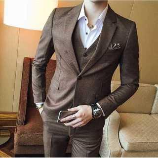 無地 セットアップ 紳士 スーツメンズ 着痩せ スーツジャケットzb376(セットアップ)