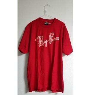 レイバン(Ray-Ban)の【新品未使用】Ray-Ban Tシャツ 赤 レッド サイズXL レイバン(Tシャツ/カットソー(半袖/袖なし))