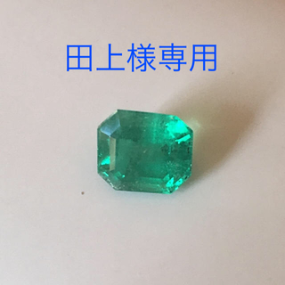 美艶コロンビア産エメラルド 1.251ctリング(リング(指輪))