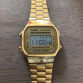 カシオ(CASIO)のカシオ☆CASIO☆腕時計☆A168WG-9(腕時計(デジタル))