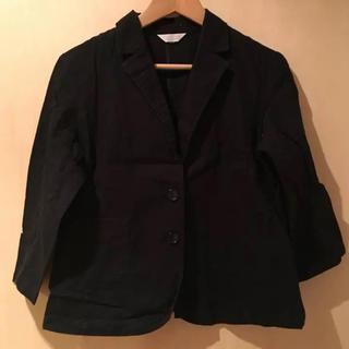 七分袖 テーラードジャケット(テーラードジャケット)