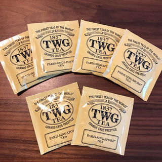 TWG 紅茶 6個セット(茶)