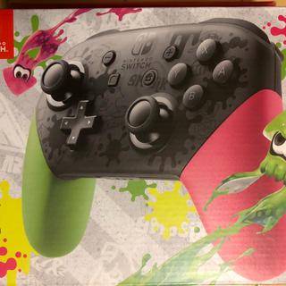 ニンテンドースイッチ(Nintendo Switch)のスプラトゥーン2 Switch プロコントローラー 限定品(家庭用ゲーム本体)