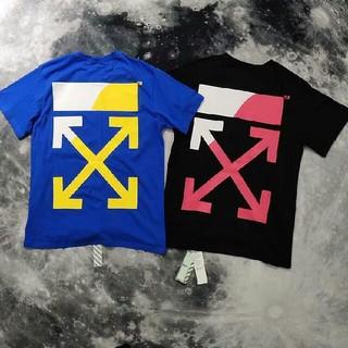 ステューシー(STUSSY)のOFF WHITE Tシャツ 男女兼用 2色 M-XL 新品 (Tシャツ/カットソー(半袖/袖なし))