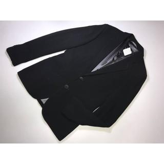ジョルジオアルマーニ(Giorgio Armani)の黒ラベル最高級ジョルジオアルマーニジャケット上着ブレザー黒サイズ48 Mサイズ(その他)