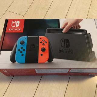 ニンテンドースイッチ(Nintendo Switch)のニンテンドースイッチ ネオンカラー 新品(家庭用ゲーム本体)